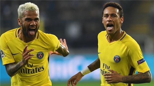 Neymar lại nổ súng, PSG tiếp tục khuynh đảo châu Âu - Ảnh 1.