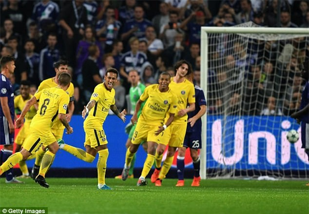 Neymar lại nổ súng, PSG tiếp tục khuynh đảo châu Âu - Ảnh 5.