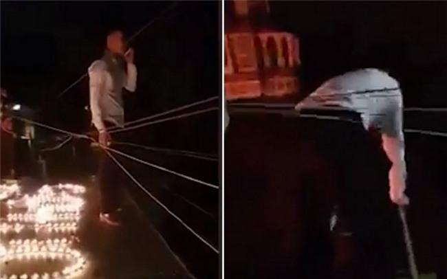 Thót tim cảnh chàng trai Hà Nội bắc thang trèo vào nhà người yêu cầu hôn lúc 1h sáng - Ảnh 2.