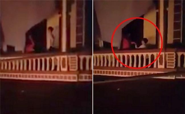 Thót tim cảnh chàng trai Hà Nội bắc thang trèo vào nhà người yêu cầu hôn lúc 1h sáng - Ảnh 3.