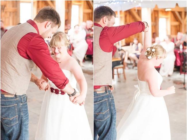 """Cầu hôn và trao lời thề nguyện với cả hai chị em gái, đám cưới """"tay ba"""" này đã làm cho quan khách xúc động rơi lệ - Ảnh 8."""