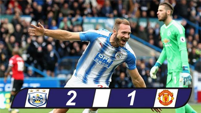 Tội đồ Lindelof khiến M.U bại trận trước Huddersfield