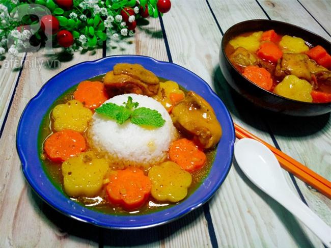 Nấu cơm cà ri gà béo ngậy thơm ngon cả nhà đều khen - Ảnh 6.
