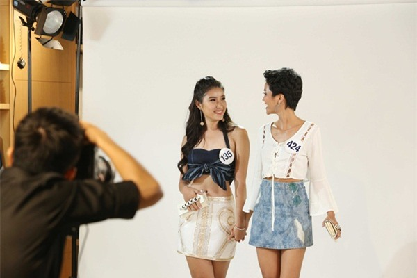Sau 3 tập thất bại, Hoàng Thùy và Mâu Thủy có chiến thắng đầu tiên tại Hoa hậu Hoàn vũ Việt Nam-10