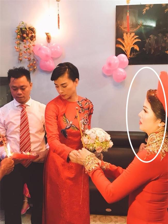 Dân mạng xôn xao trước hình ảnh Ngô Thanh Vân mặc áo dài trong lễ rước dâu - Ảnh 5.