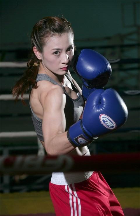 Hot girl boxing Nguyễn Thị Yến: Nếu có ai trêu, em chỉ lườm một cái... rồi thôi - Ảnh 5.