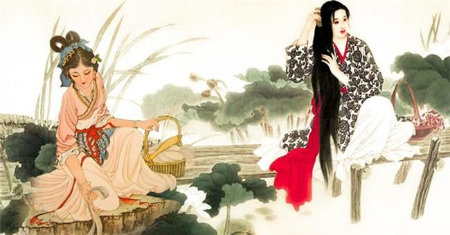 Sự thật về việc tắm rửa của mỹ nhân Trung Hoa xưa: 10 ngày mới tắm một lần, xà phòng làm từ lòng lợn - Ảnh 3.