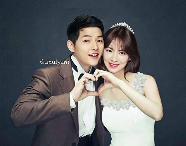 Chưa kết hôn, Song - Song đã có bộ ảnh cưới và album ảnh gia đình bên quý tử đầu lòng chất thế này! - Ảnh 2.