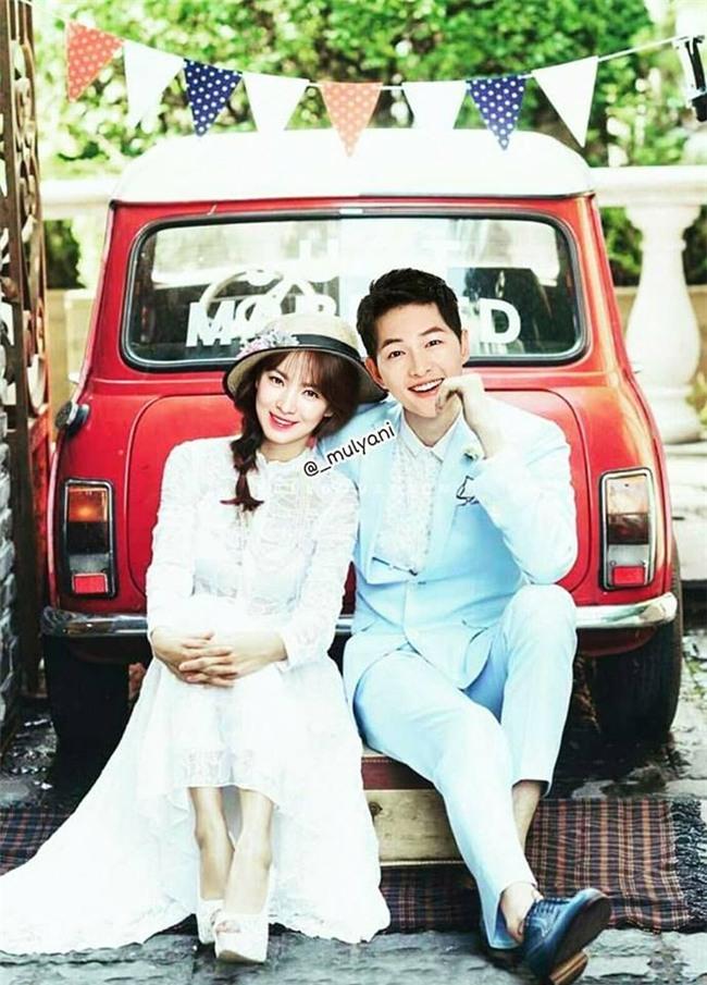 Chưa kết hôn, Song - Song đã có bộ ảnh cưới và album ảnh gia đình bên quý tử đầu lòng chất thế này! - Ảnh 6.