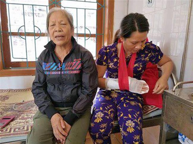 Cầm dao chém đứt gân tay nữ phó trạm y tế vì bị từ chối truyền nước - Ảnh 2.