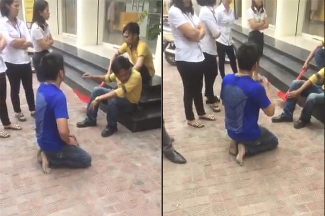Hà Nội: Tên trộm xe máy bị chuột rút sau thời gian dài phải quỳ gối xin lỗi, người dân giúp xoa bóp chân rồi cho đi - Ảnh 1.