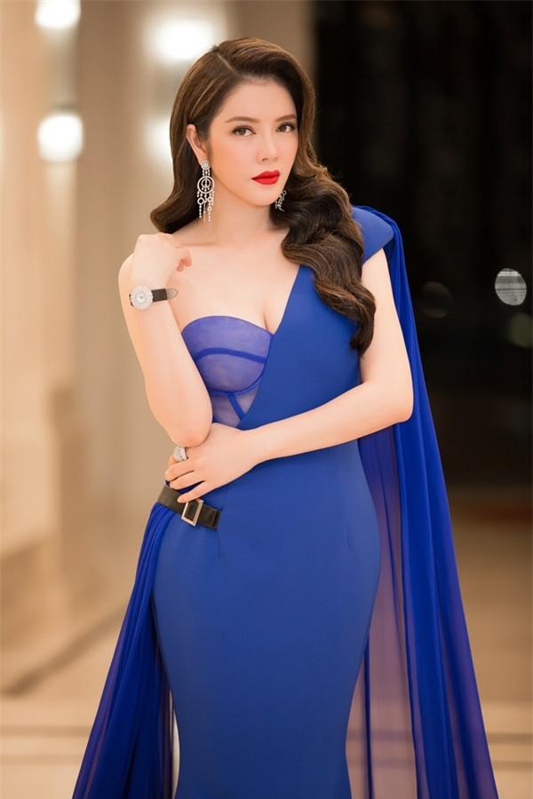Lý Nhã Kỳ lộng lẫy như bà hoàng ngồi chấm Miss Grand International-2