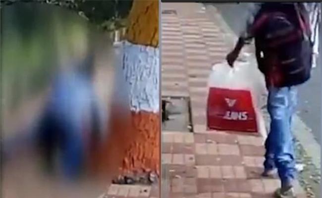 Cô gái bị hiếp dâm giữa phố đông, người qua đường chỉ lẳng lặng quay lại clip mà không cứu - Ảnh 1.