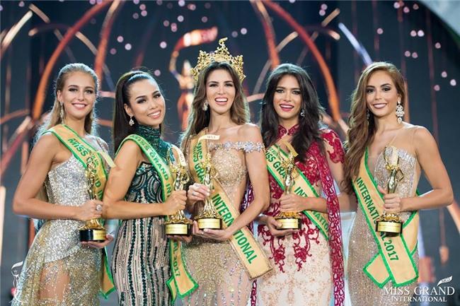 Điểm lại những lý do khiến Huyền My trượt top 5 Miss Grand International 2017-8