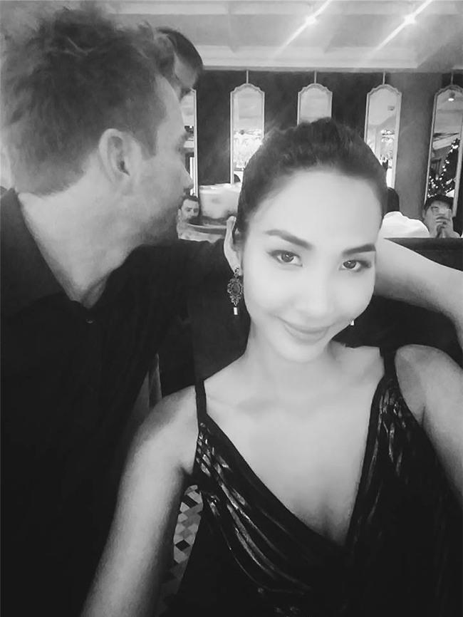 Hoàng Thùy: Bạn trai Tây là người xúi tôi thi Hoa hậu Hoàn vũ Việt Nam-4