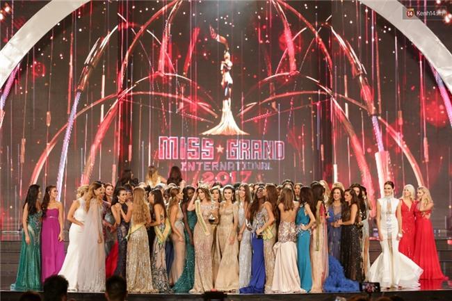 Đây là hình ảnh dập tắt thông tin Huyền My không thân thiện tại đêm chung kết Miss Grand International 2017 - Ảnh 1.