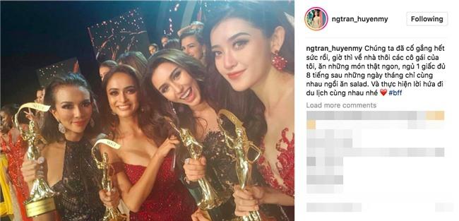 Đây là hình ảnh dập tắt thông tin Huyền My không thân thiện tại đêm chung kết Miss Grand International 2017 - Ảnh 4.
