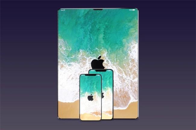 "Diện mạo iPad, MacBook và iMac sẽ ra sao nếu ""lai"" iPhone X? - Ảnh 1."