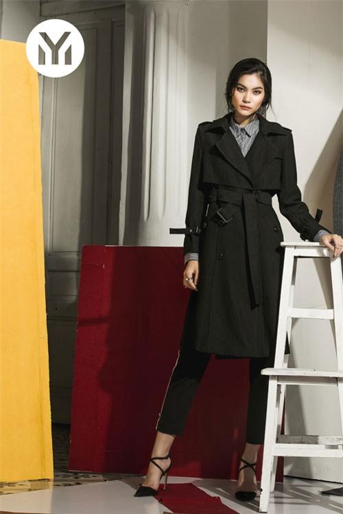 Kim Dung Next Top làm vedette trong fashion show của M.Y.M-3