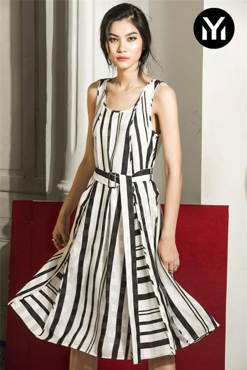 Kim Dung Next Top làm vedette trong fashion show của M.Y.M-4
