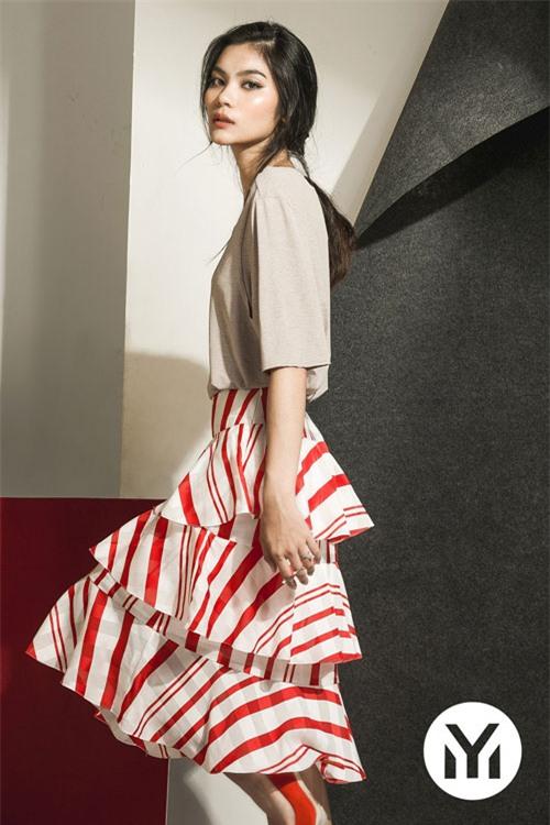 Kim Dung Next Top làm vedette trong fashion show của M.Y.M-6