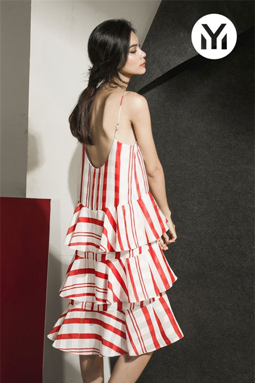 Kim Dung Next Top làm vedette trong fashion show của M.Y.M-7