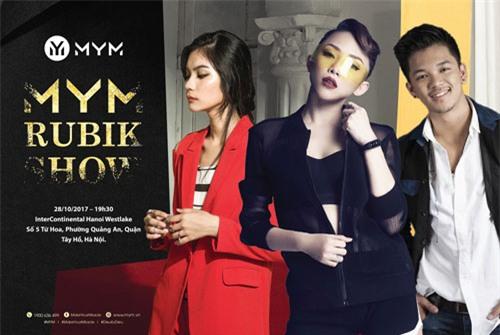 Kim Dung Next Top làm vedette trong fashion show của M.Y.M-9