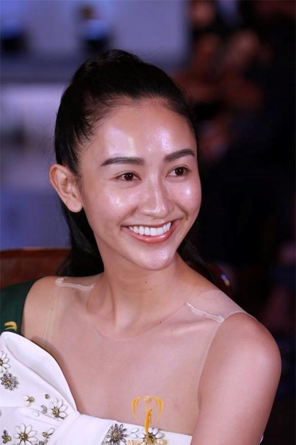 Sau phần thi mặt mộc, Hà Thu vươn lên dẫn đầu bình chọn Gương mặt ăn ảnh tại Miss Earth 2017 - Ảnh 2.