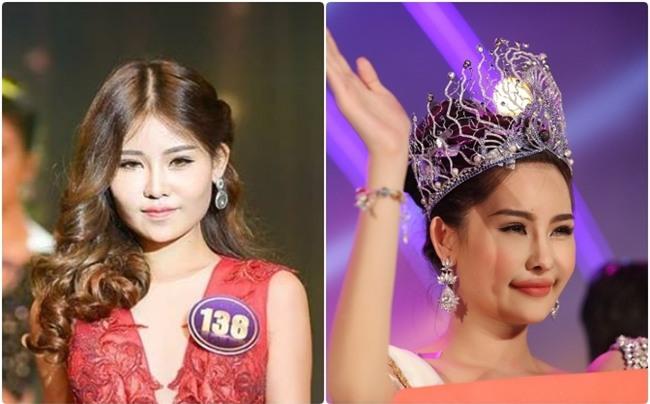 Khẳng định môi tự nhiên nhưng mới đầu năm 2017 Tân Hoa hậu Đại dương Việt Nam còn trông như thế này! - Ảnh 6.