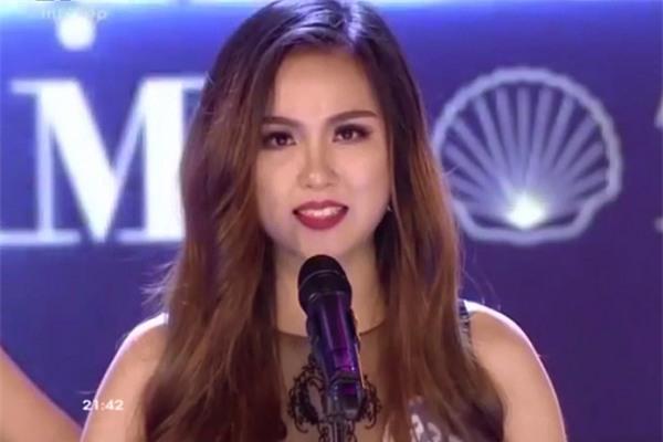 Ứng xử hồn nhiên hơn Ngọc Trinh, cô gái này sáng nhất chung kết Hoa hậu Đại dương 2017-1