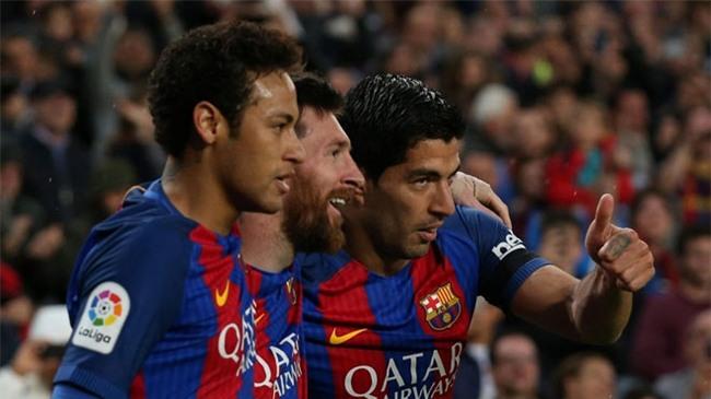 Neymar tranh thủ trở lại Barca thăm lại Messi và Suarez - Ảnh 2.