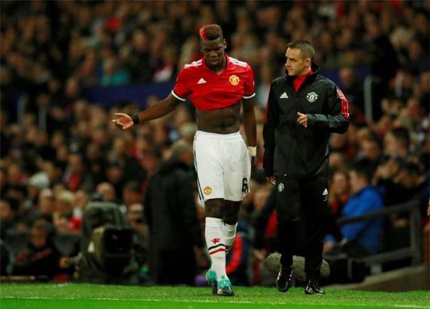 Mourinho tuc gian khi noi ve chan thuong cua Pogba hinh anh 1
