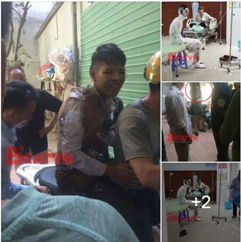Bắc Ninh: Nam thanh niên tẩm xăng tự thiêu, nghi do cãi nhau với bạn gái