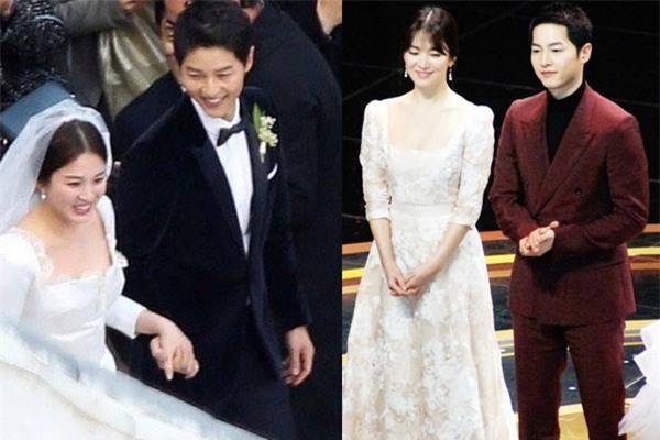 Hóa ra váy cưới của Song Hye Kyo đã được tiết lộ từ trước mà chúng ta chẳng hề hay biết - Ảnh 13.