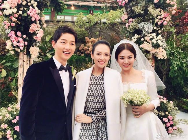 Được ông xã chăm bẵm chiều chuộng, Song Hye Kyo béo lên trông thấy trong ngày trọng đại? - Ảnh 1.