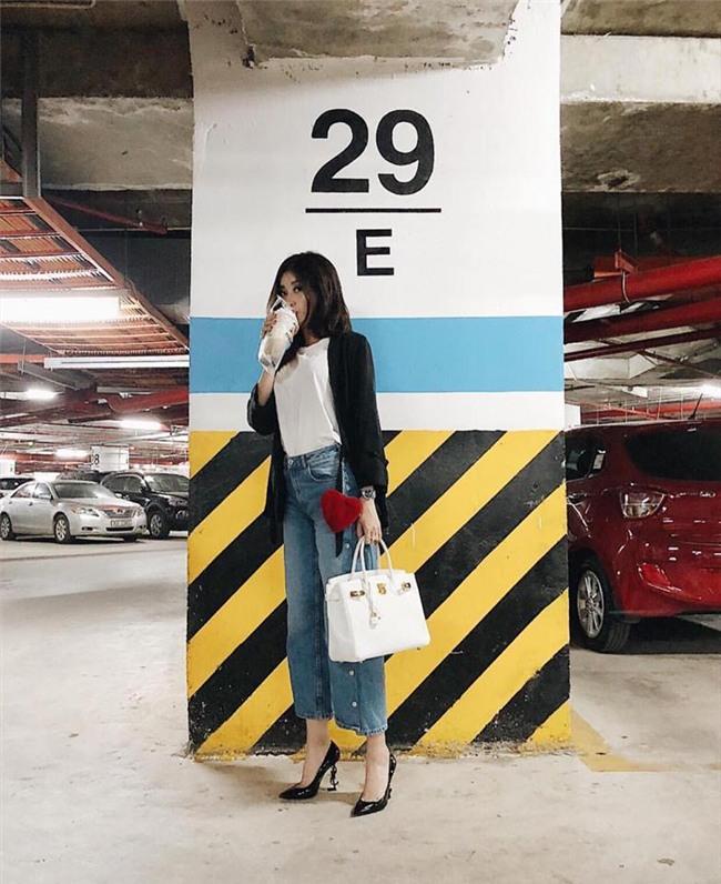 Huyền My gợi cảm - Sơn Tùng lăng xê mốt quần của bố trong street style tuần này-2