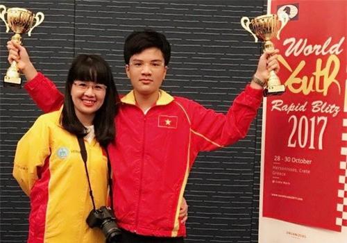 Chào đón nhà vô địch thế giới Nguyễn Anh Khôi - Ảnh 3.