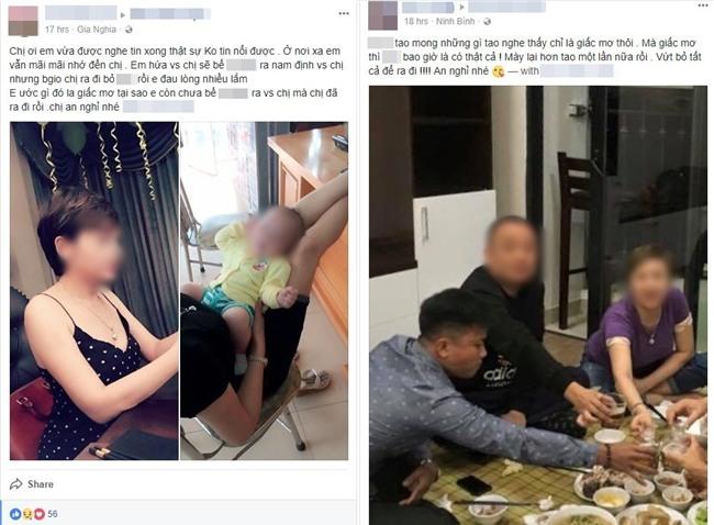 Nhiều người bàng hoàng, gửi lời tiễn biệt khi biết thiếu phụ bị nam sinh viên sát hại dã man trong chung cư Hà Nội - Ảnh 2.
