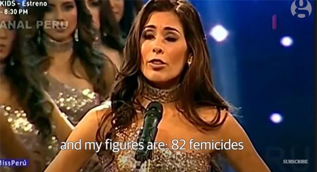 Thay vì công bố số đo 3 vòng, các thí sinh Hoa hậu này lại nói lên những con số gây sốc cho người xem - Ảnh 2.