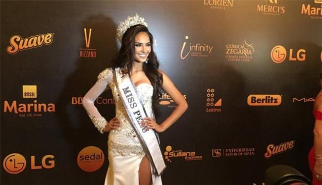 Thay vì công bố số đo 3 vòng, các thí sinh Hoa hậu này lại nói lên những con số gây sốc cho người xem - Ảnh 4.