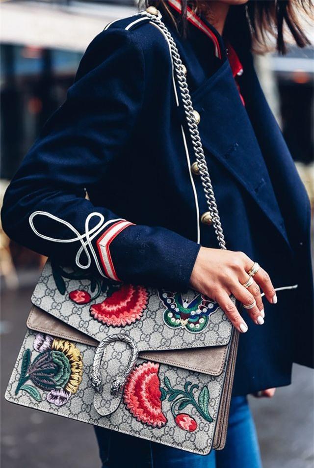 Trọn bộ bí kíp phân biệt túi Gucci thật – giả cho các tín đồ hàng hiệu - Ảnh 1.