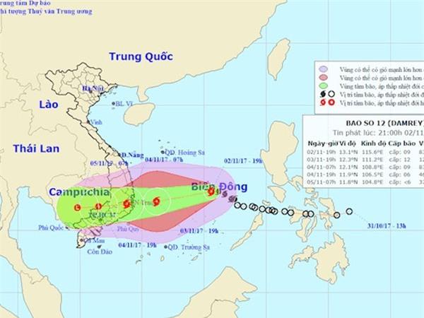 Bão số 12 đe dọa nhưng Sài Gòn vẫn hửng nắng, liệu có bất thường?