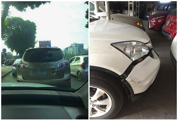 Đụng xe, tài xế hùng hổ dọa đánh người phụ nữ rồi bỗng nhiên nhấn ga bỏ chạy - Ảnh 2.