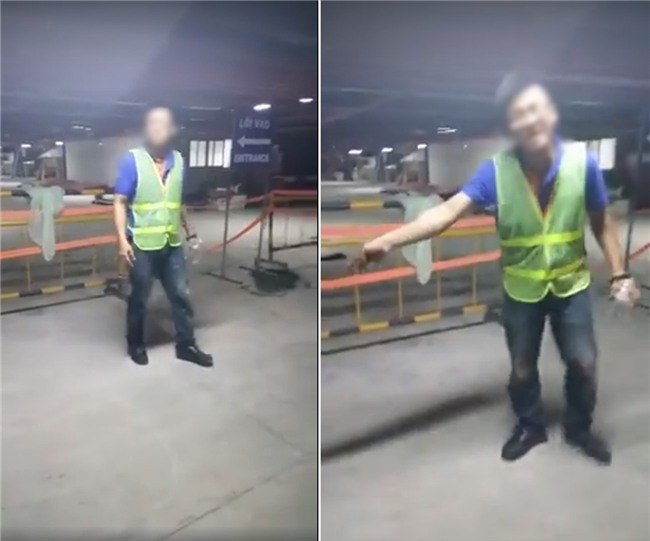 Clip nhân viên bãi xe sân bay Tân Sơn Nhất dọa nạt, giật điện thoại khi khách thông báo mất bugi xe máy - Ảnh 2.