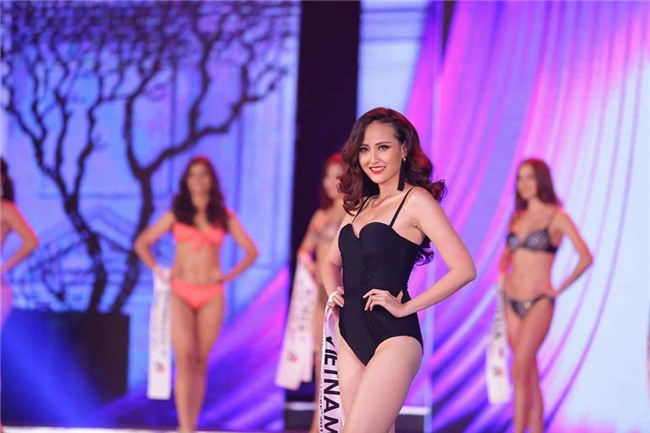 Đi thi trong âm thầm, Khánh Ngân xuất sắc đăng quang Hoa hậu Sắc đẹp Hoàn cầu 2017-7