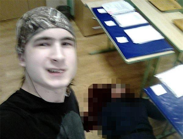 Vụ án chấn động nước Nga: Nam sinh sát hại thầy giáo rồi chụp ảnh bên cạnh thi thể vì bị đe dọa đuổi học - Ảnh 3.