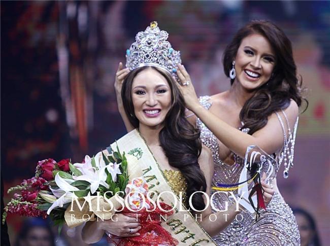 Nhan sắc không thể tin được của Tân Hoa hậu vừa đăng quang Miss Earth 2017 - Ảnh 1.