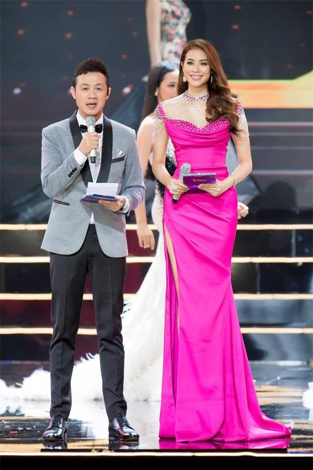 Nhặt sạn đêm Bán kết kém hấp dẫn của Hoa hậu Hoàn vũ 2017 - Ảnh 12.