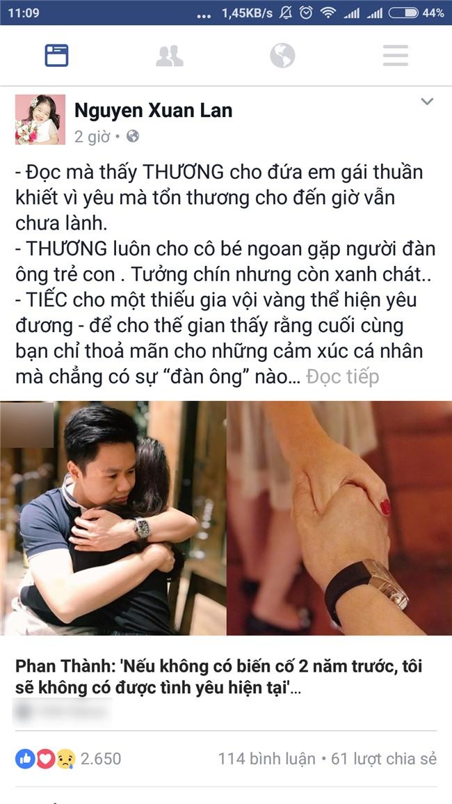Chứng kiến Phan Thành coi sự cố hủy hôn là may mắn, Xuân Lan thở dài thương xót Midu-2