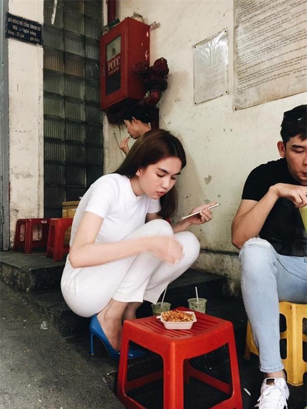 Hình đăng lên trang cá nhân chau chuốt, nhưng lúc nào bị chụp trộm sao Việt cũng luôn trong style... luộm thuộm - Ảnh 6.